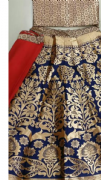 Gorgeous blue Patterned Lehenga